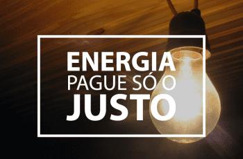 Guia Energia Pague só o Justo [ Caso de dona Maria]